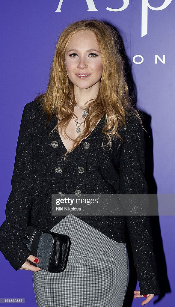 Juno Temple attends the The EE British Academy Film Awards Nominees Party at Asprey on February 9, 2013 in London, England.