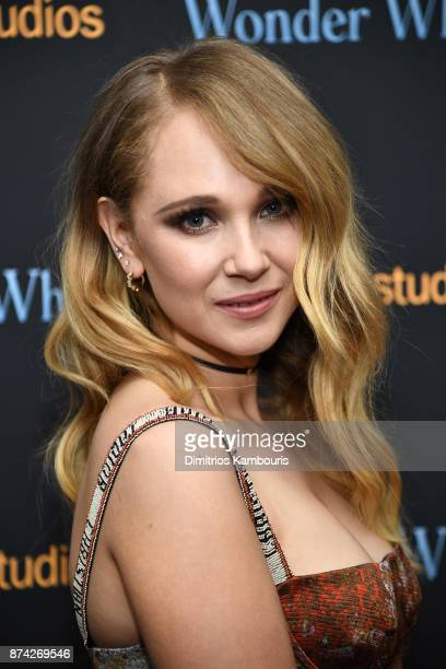 Juno Temple attends the 'Wonder Wheel' screening at Museum of Modern Art on November 14 2017 in New York City