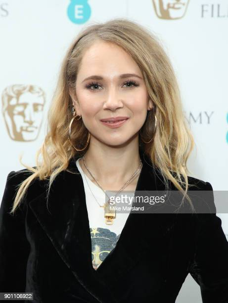 Juno Temple during the EE Rising Star Nominations announcement held at BAFTA on January 4 2018 in London England