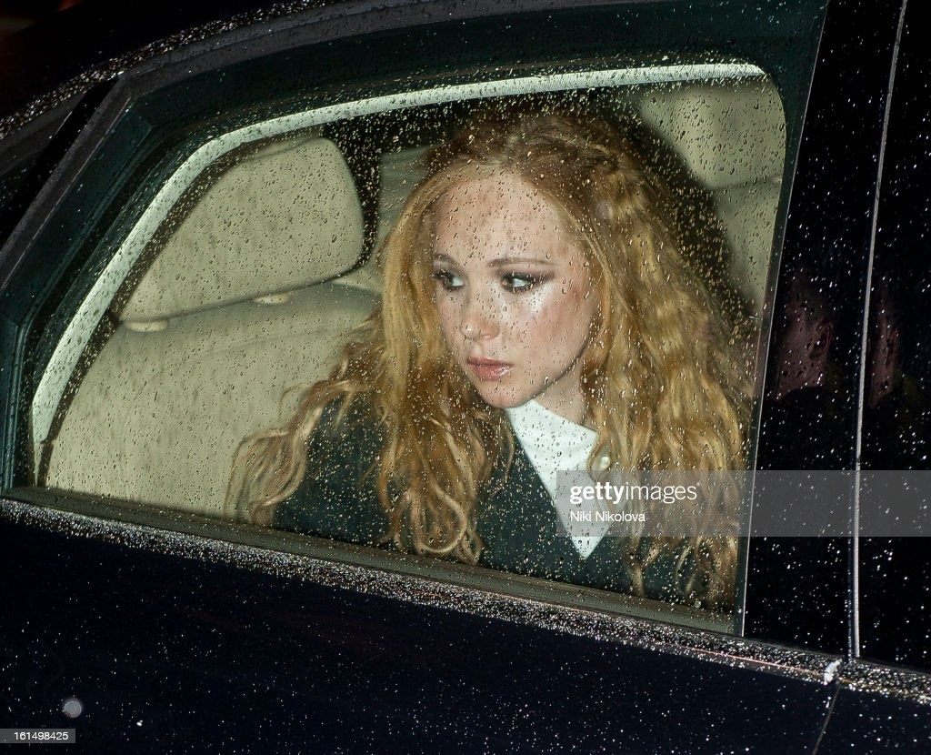 Juno Temple sighting on February 11, 2013 in London, England.
