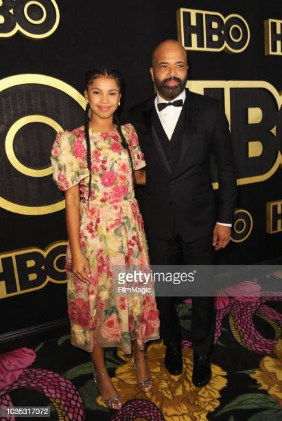 Juno Wright and Jeffrey Wright arrive at HBO's Official 2018 Emmy After Party on September 17 2018 in Los Angeles California