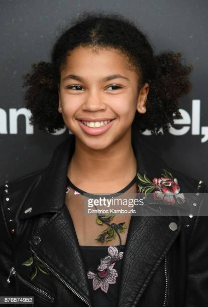 Juno Wright attends the screening of Roman J Israel Esq at Henry R Luce Auditorium at Brookfield Place on November 20 2017 in New York City