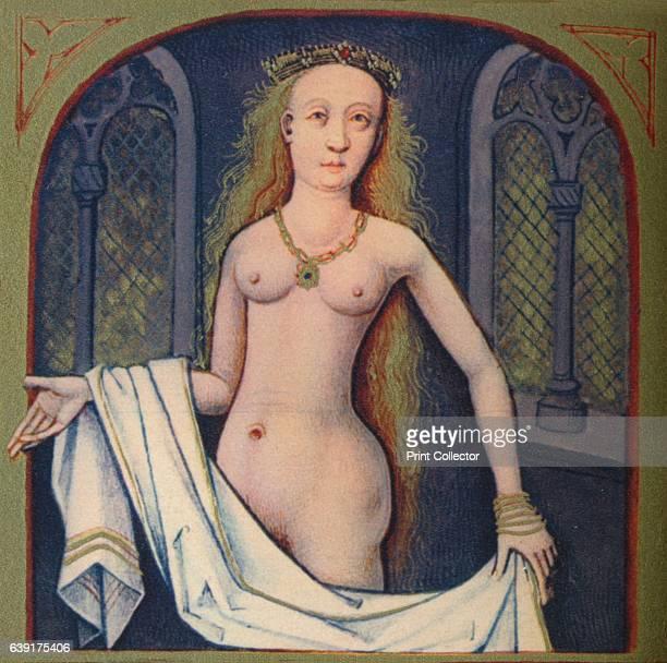 Junon Deesse Des Royaumes' The illustration is part of the manuscript De Claris mulieribus traduction anonyme en francais by Giovanni Boccaccio...