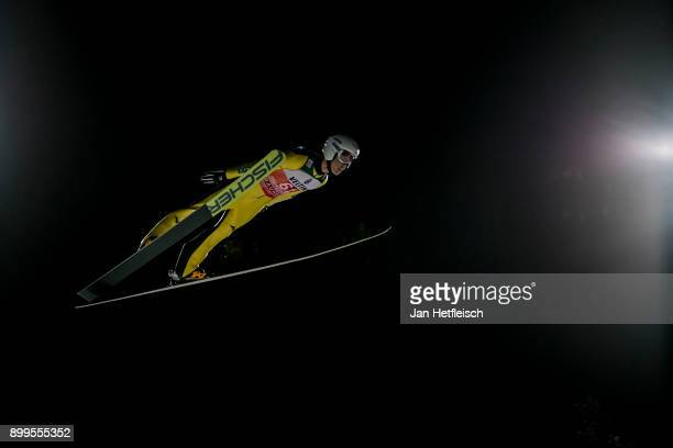 Junshiro Kobayashi of Japan competes during the qualification round for the Four Hills Tournament on December 29 2017 in Oberstdorf Germany