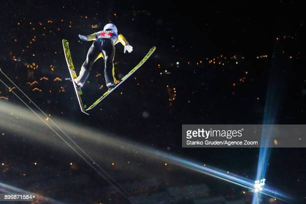 Junshiro Kobayashi of Japan in action during the FIS Nordic World Cup Four Hills Tournament on December 30 2017 in Oberstdorf Germany