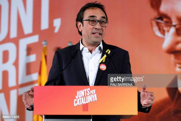 'Junts per Catalonia' grouping candidates for the upcoming Catalan regional election deposed Catalan regional government Territory and Sustainability...
