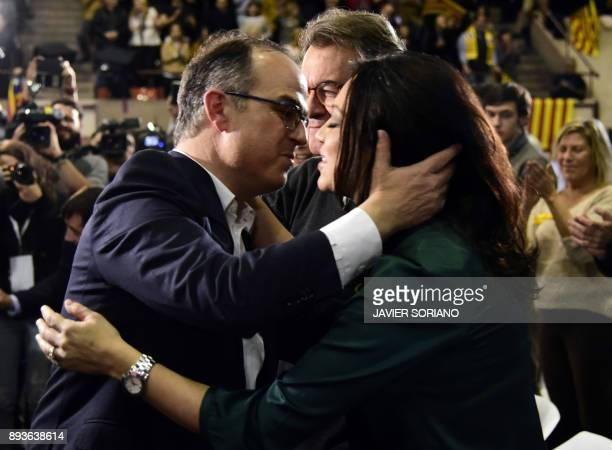 'Junts per Catalonia' JUNTSXCAT grouping candidate for the upcoming Catalan regional election deposed Catalan regional government spokesperson Jordi...