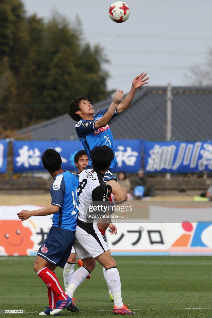 Mito hollyhock v Renofa Yamaguchi - J.League J2