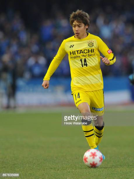 Junya Ito of Kashiwa Reysol in action during the 97th Emperor's Cup semi final match between Yokohama FMarinos and Kashiwa Reysol at Todoroki Stadium...