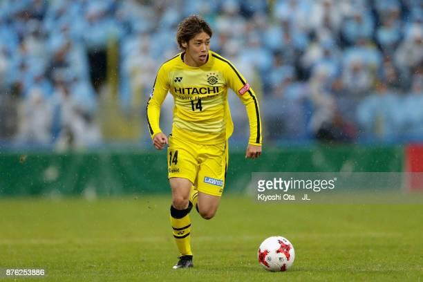 Junya Ito of Kashiwa Reysol in action during the JLeague J1 match between Kashiwa Reysol and Jubilo Iwata at Hitachi Kashiwa Soccer Stadium on...
