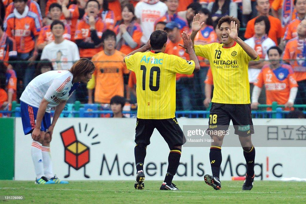 Kashiwa Reysol v Albirex Niigata - J.League : Foto jornalística