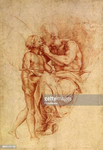 Jupiter and Cupid Raphael Raffaello S