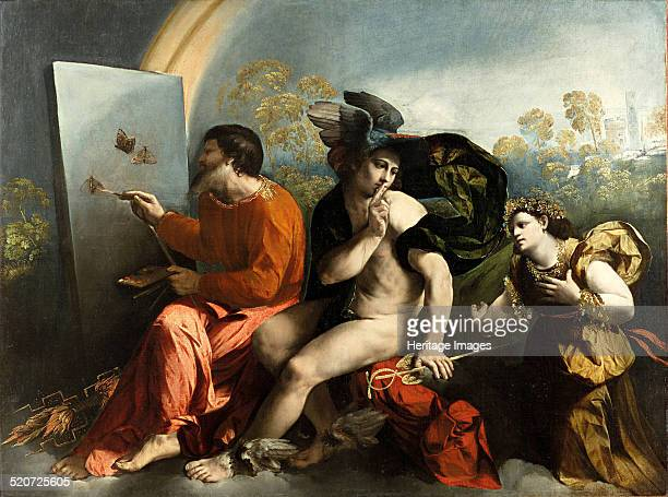 Jupiter Mercury and the Virtue Found in the collection of Wawel Royal Castle Krakow