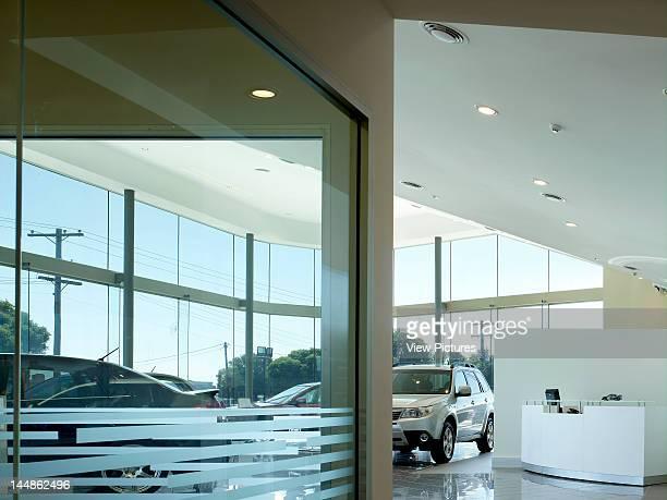 Jupiter Motors, Urana Street, Wagga Wagga, New South Wales, Australia, Architect: Workshop 1 Dunn + Hillam Achitects Show Room Interior,Car...
