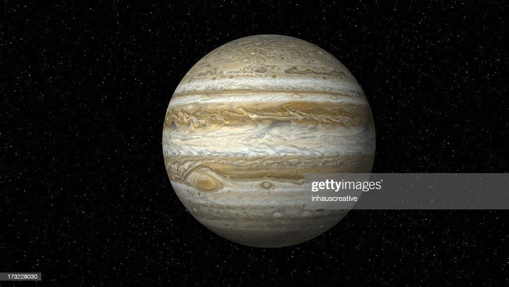 Jupiter sul Campo stellato (XXXL : Foto stock