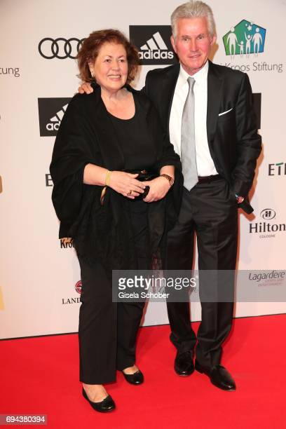 Jupp Heynckes and his wife Iris Heynckes during the Toni Kroos charity gala benefit to the Toni Kroos Foundation at 'The Palladium' on June 9 2017 in...