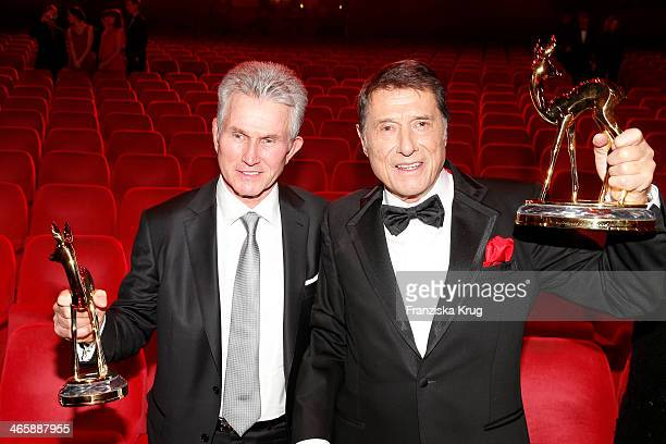 Jupp Heynckes and Udo Juergens attend the Bambi Awards 2013 at Stage Theater on November 14 2013 in Berlin Germany
