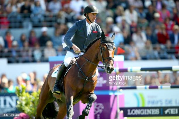 Jur VRIELING riding ETOULON VDL during the Prix Groupe Barriere on May 19 2018 in La Baule France