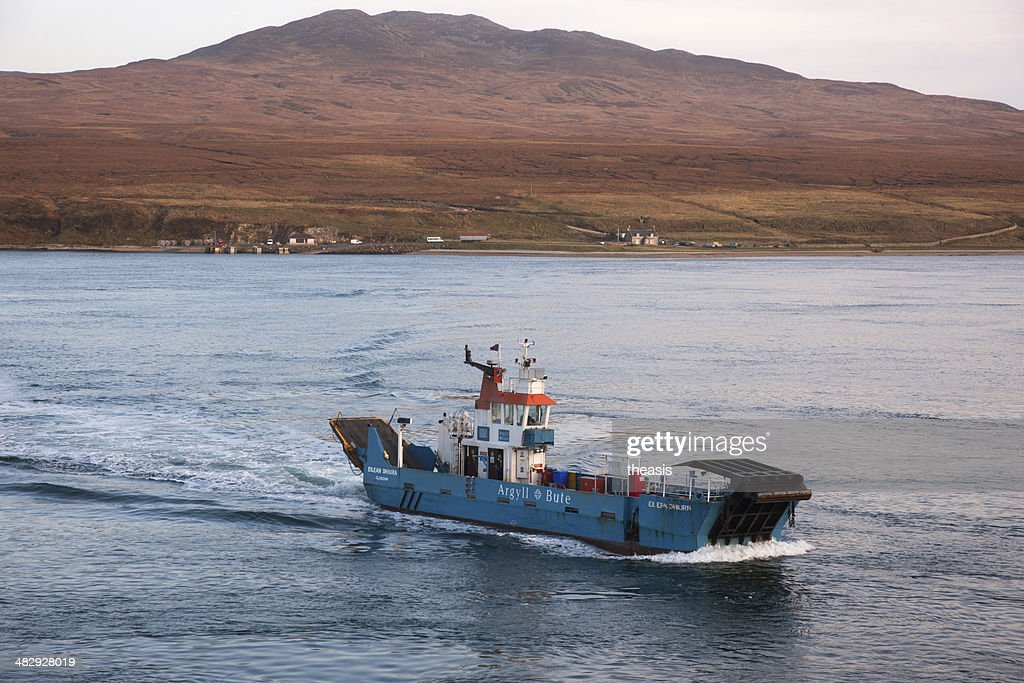 Jura Ferry : Stock Photo
