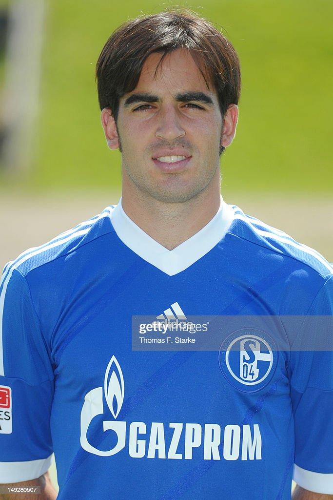 Schalke 04 Team Presentation : News Photo