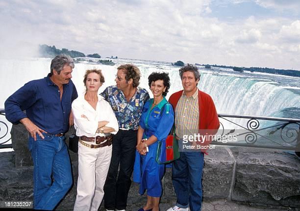 Juraj Kukura Diana KoernerKreindl Thomas Fritsch Conny Glogger Volker Brandt PRO 7 Serie 'Glueckliche Reise' Folge 12 'Kanada' Kanada/Amerika...
