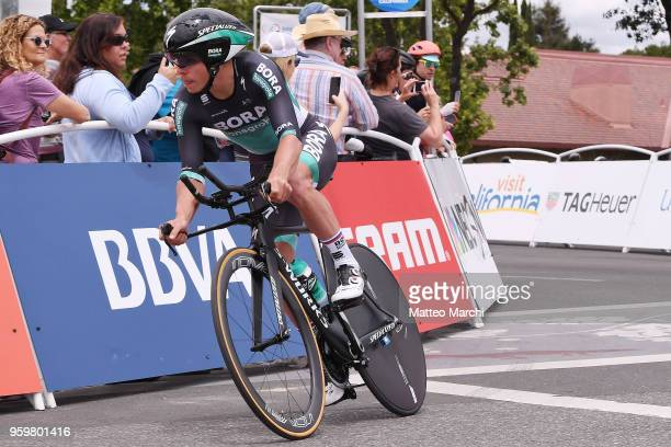 Juraj Sagan of Slovakia and Team BoraHansgrohe rides during stage four of the 13th Amgen Tour of California 2018 San Jose / Morgan Hill a 347 km...