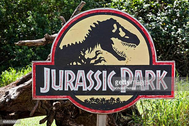 jurassic park - jurassic park film stock photos and pictures
