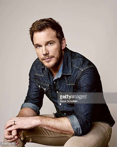 'Jurassic World' actor Chris Pratt is photographed for Wonderwall on June 5 2015 in Burbank California