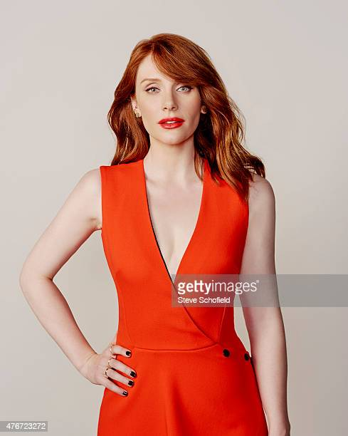 'Jurassic World' actress Bryce Dallas Howard is photographed for Wonderwall on June 5 2015 in Burbank California PUBLISHED IMAGE