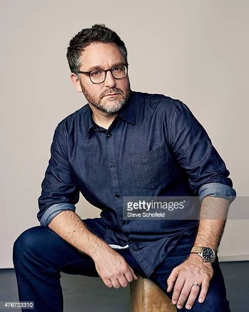 'Jurassic World' director Colin Trevorrow is photographed for Wonderwall on June 5 2015 in Burbank California PUBLISHED IMAGE