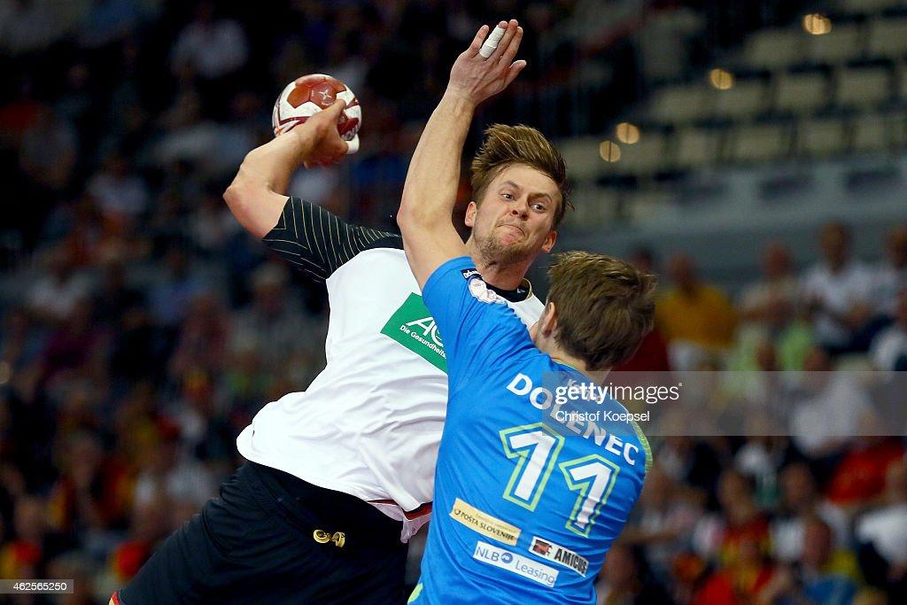 Germany v Slovenia - 8th Place Match: 24th Men's Handball World Championship : ニュース写真