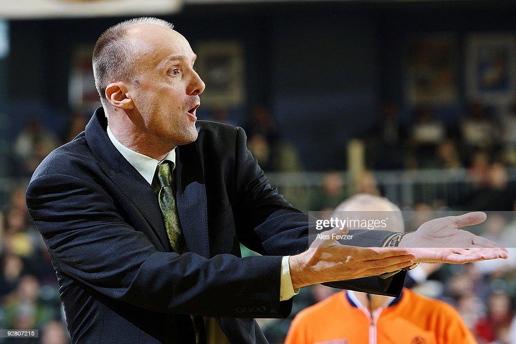 Union Olimpija Ljubljana v Caja Laboral - Euroleague Basketball : Fotografía de noticias