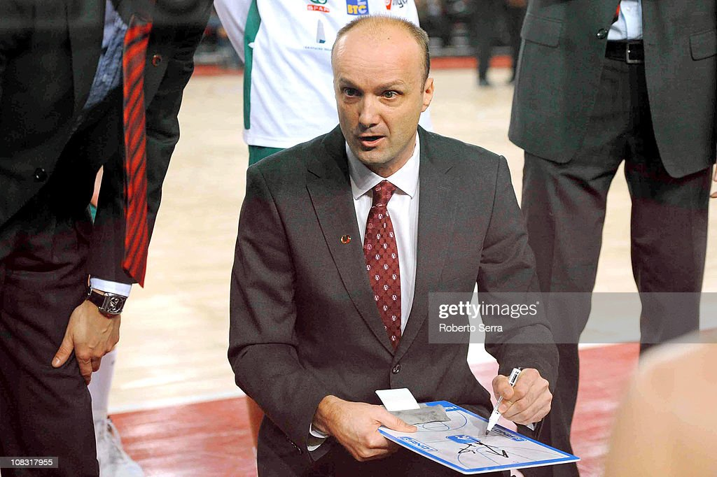 Lottomatica Roma v Union Olimpija Ljubljana - Turkish Airlines Euroleague : News Photo