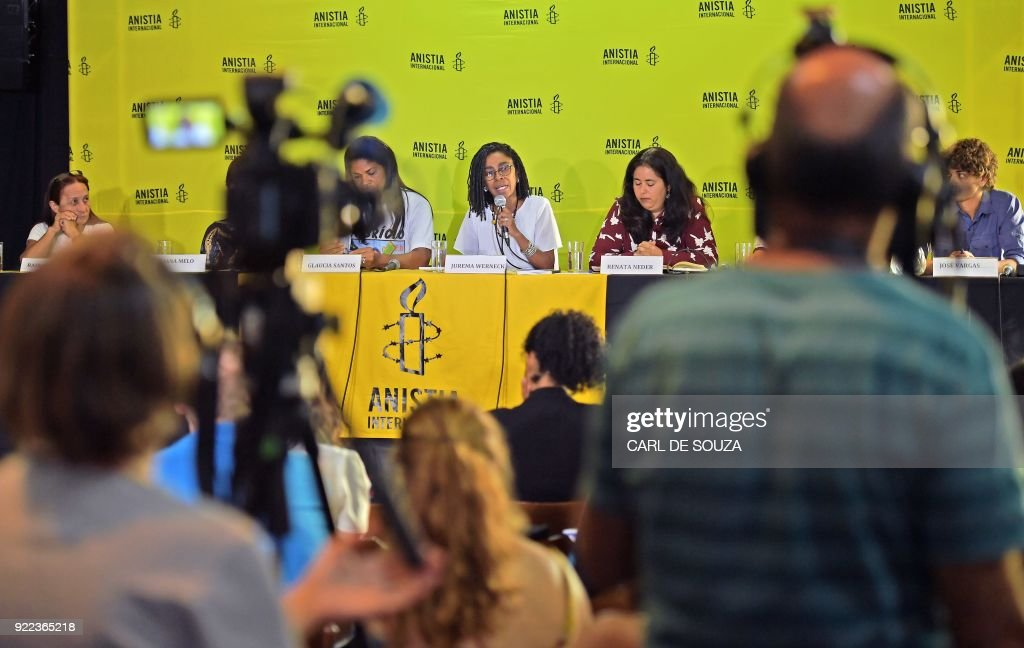 BRAZIL-HUMAN-RIGHTS-AMNESTY-REPORT : News Photo