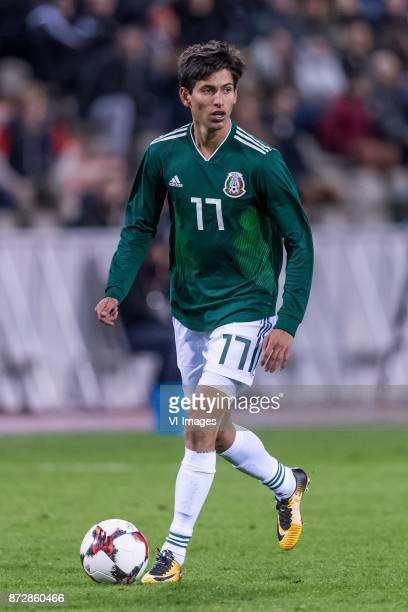 Jurgen Damm of Mexico during the friendly match between Belgium and Mexico on November 10 2017 at the Koning Boudewijn stadium in Brussels Belgium