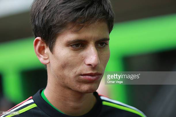 Jurgen Damm of Mexico speaks to the press prior a training session on February 09 2016 in Miami United States