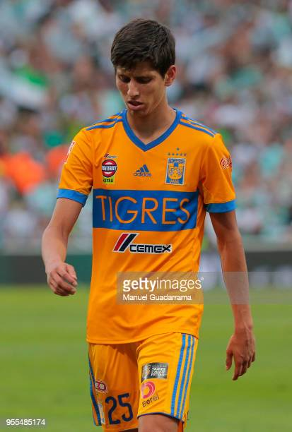 Jurgen Damm of Tigres looks on after the quarter finals second leg match between Santos Laguna and Tigres UANL as part of the Torneo Clausura 2018...