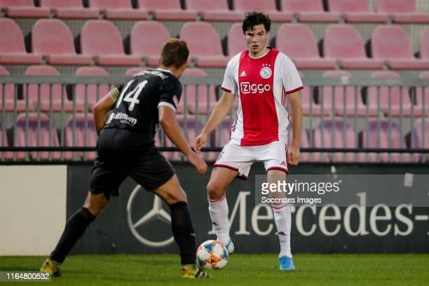 Jurgen Ekkelenkamp of Ajax U23 during the Dutch Keuken Kampioen Divisie match between Ajax U23 v Almere City at the De Toekomst on August 30, 2019 in...