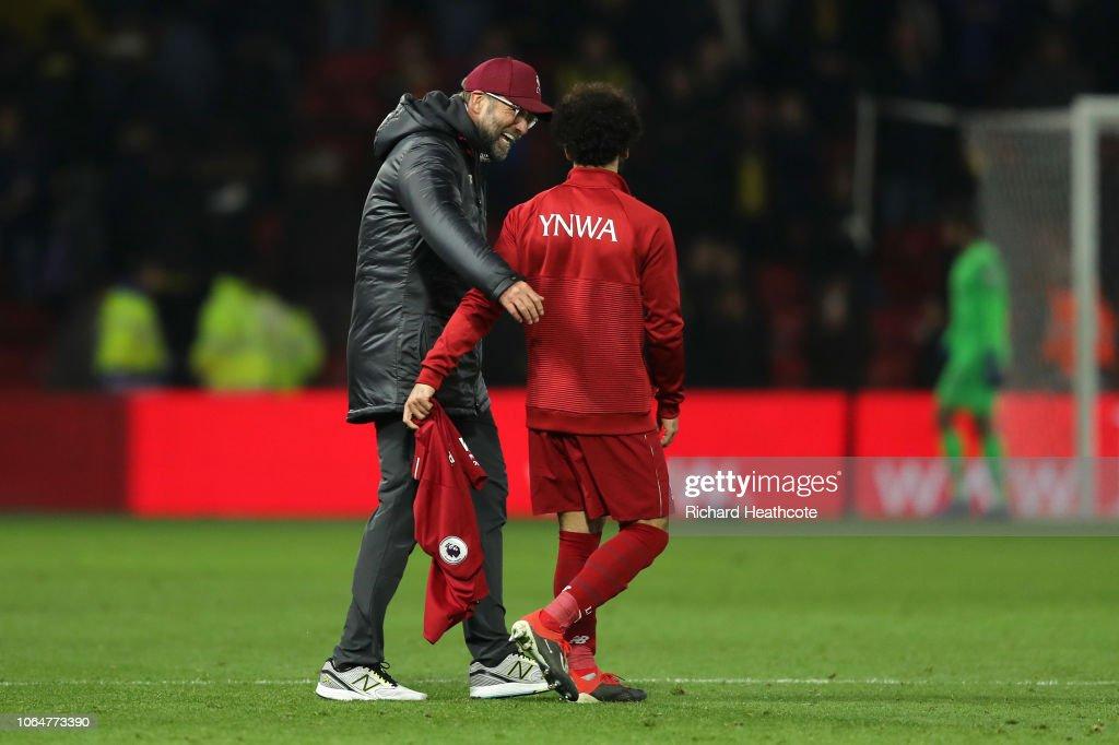 Watford FC v Liverpool FC - Premier League : News Photo