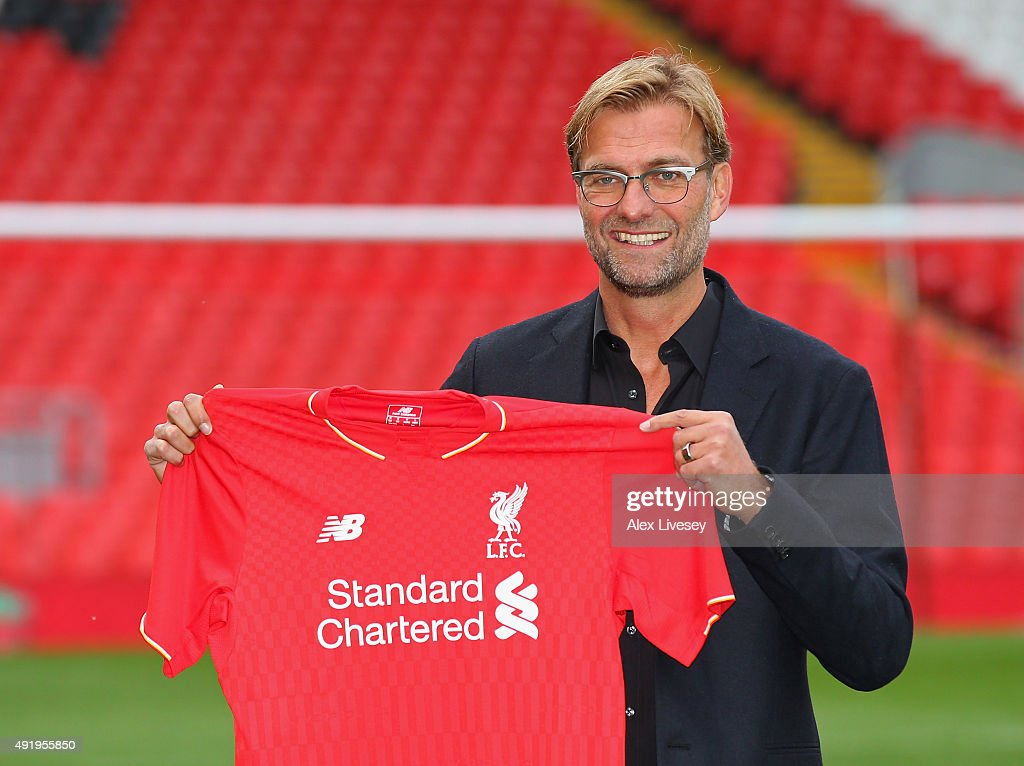 Liverpool Unveil New Manager Jurgen Klopp : News Photo