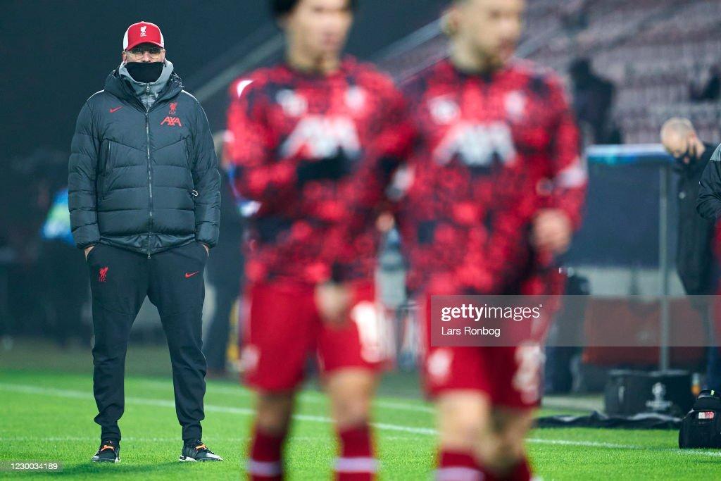 FC Midtjylland vs Liverpool FC - Danish 3F Superliga : News Photo