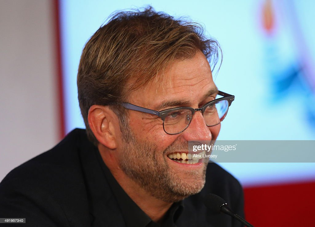 Liverpool Unveil New Manager Jurgen Klopp : News Photo