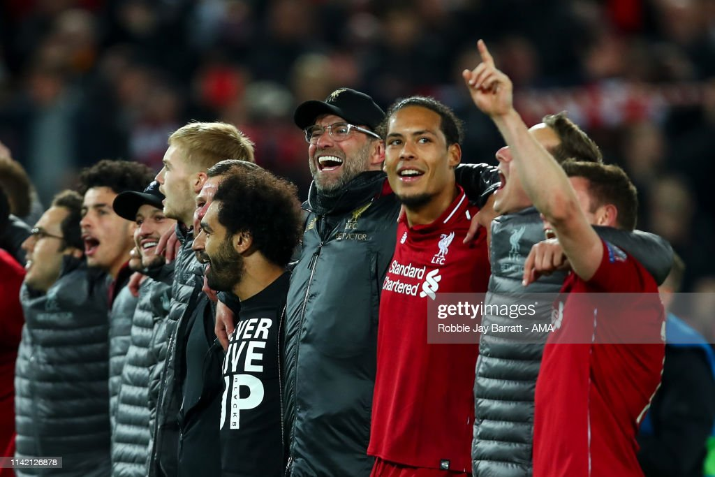 Liverpool v Barcelona - UEFA Champions League Semi Final: Second Leg : ニュース写真