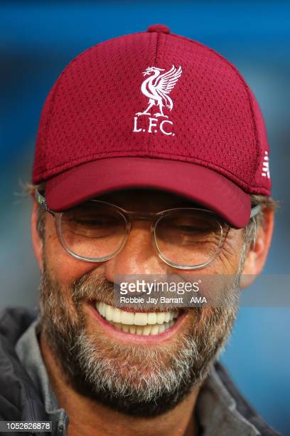 Jurgen Klopp manager / head coach of Liverpool during the Premier League match between Huddersfield Town and Liverpool FC at John Smith's Stadium on...