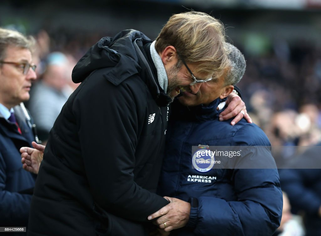 Brighton and Hove Albion v Liverpool - Premier League : News Photo
