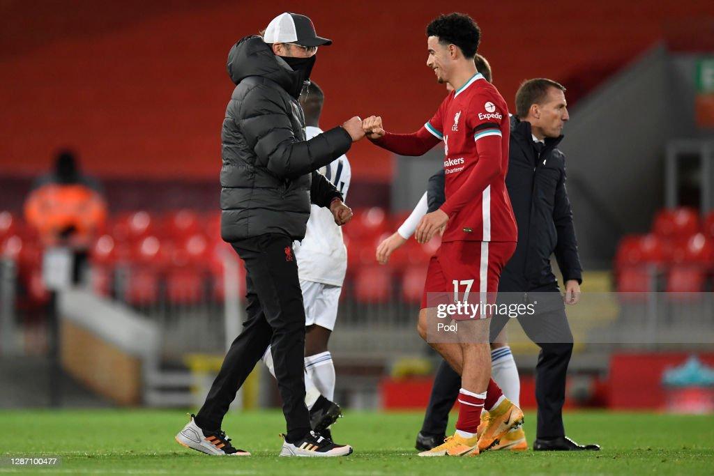 Liverpool v Leicester City - Premier League : ニュース写真