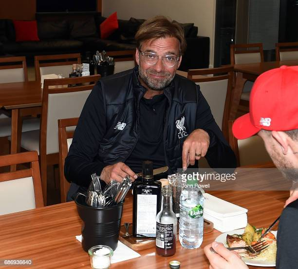 Jurgen Klopp manager of Liverpool at Melwood Training Ground on May 22 2017 in Liverpool England