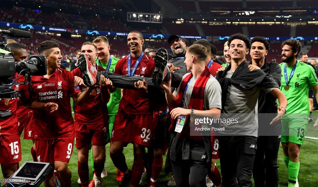 Tottenham Hotspur v Liverpool - UEFA Champions League Final : Nachrichtenfoto