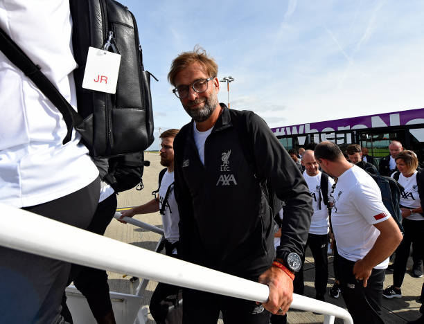 GBR: Liverpool Travel To Naples