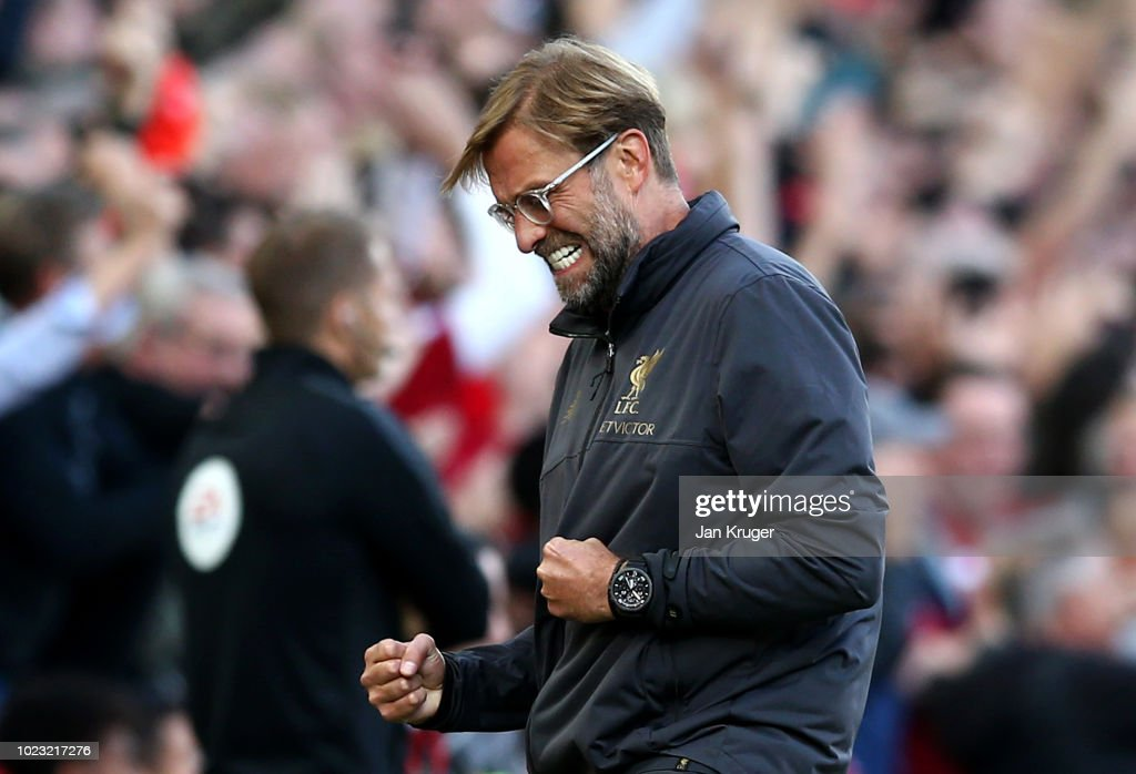 Liverpool v Brighton & Hove Albion - Premier League : News Photo